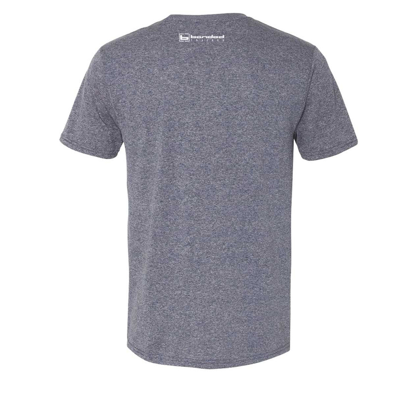 Banded Trained Performance Short Sleeve Shirt in Dark Navy Color