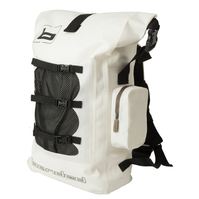 Banded Tough Mudder Backpack in White Color