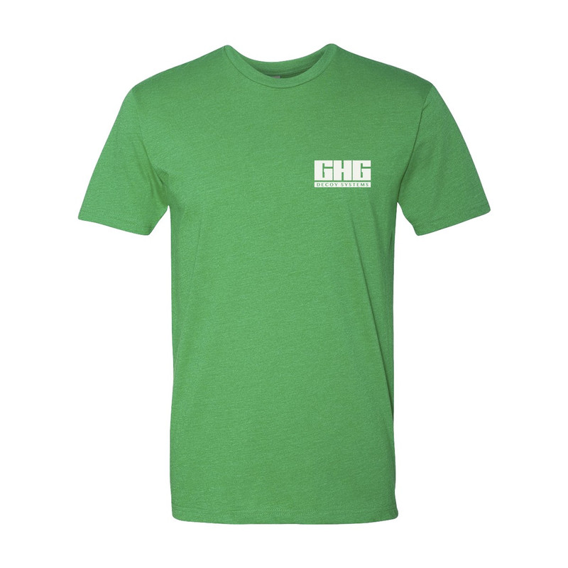 Banded GHG Signature Short Sleeve T-Shirt in Green Color