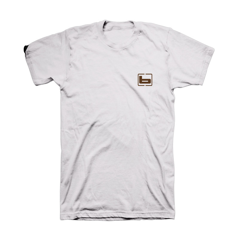 Banded Autumn Lines Short Sleeve Tee