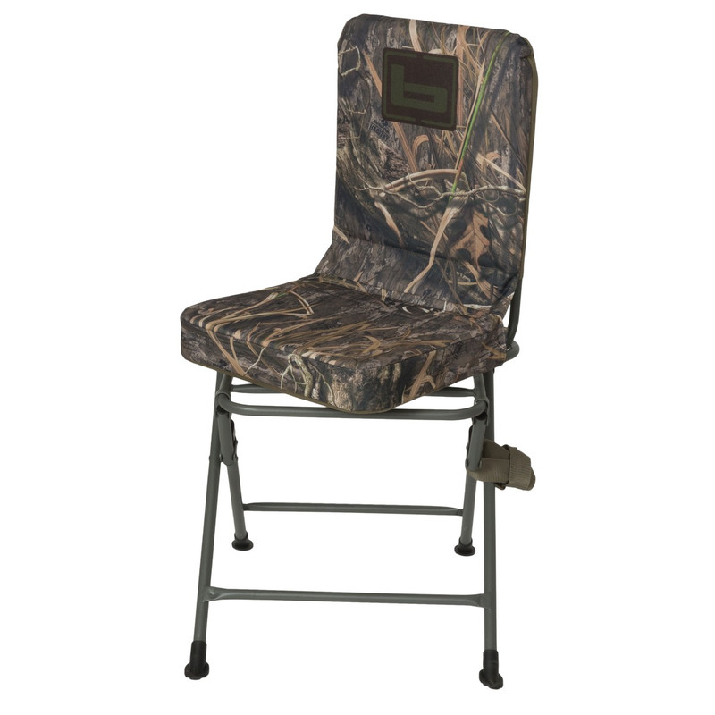 Banded Swivel Blind Chair Tall in Mossy Oak Blades Habitat Color
