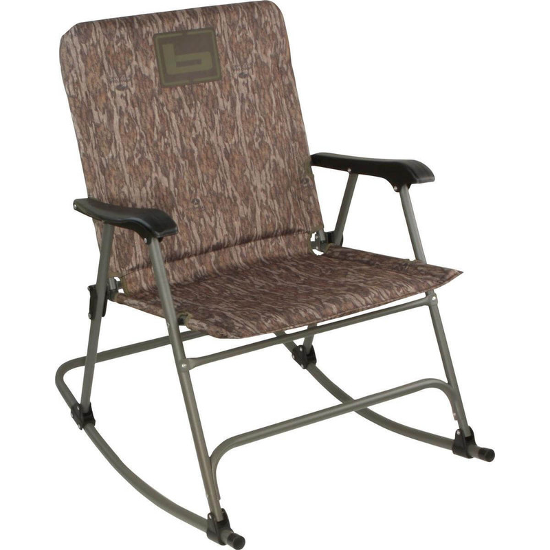 Banded Gear Rocking Folding Chair