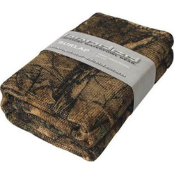 Banded Camo Burlap Material