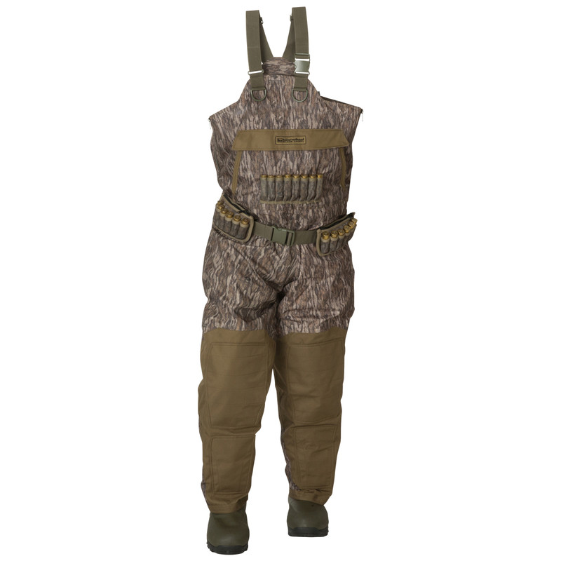 Banded Black Label Insulated Breathable Wader in Mossy Oak Bottomland Color