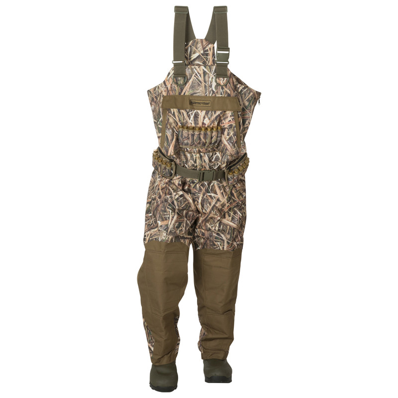 Banded Black Label Insulated Breathable Wader in Mossy Oak Shadow Grass Blades Color