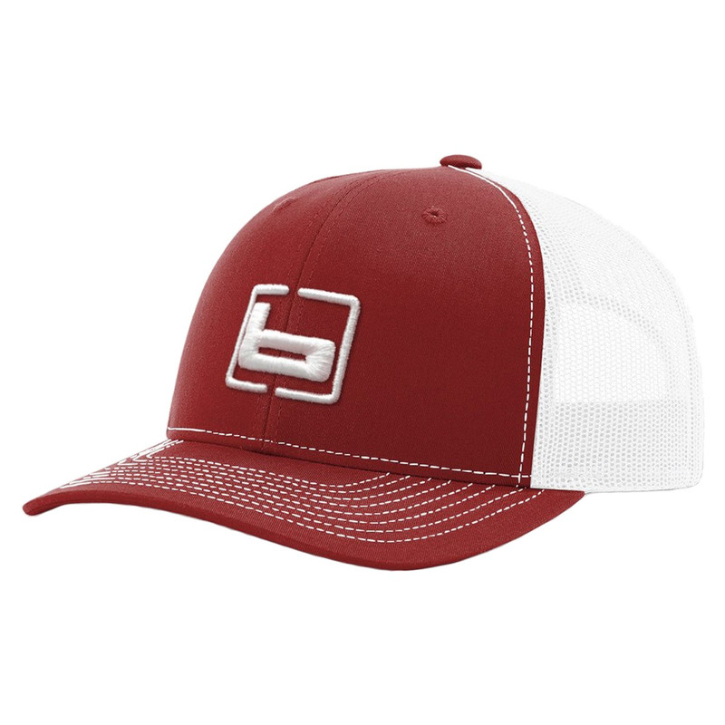 Banded R112 Trucker Cap in Cardinal White Color