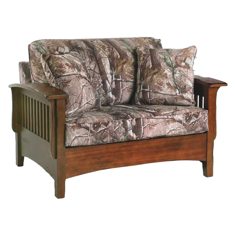 Best Home Furnishings Westney Chair and a Half in Realtree AP Camo Color