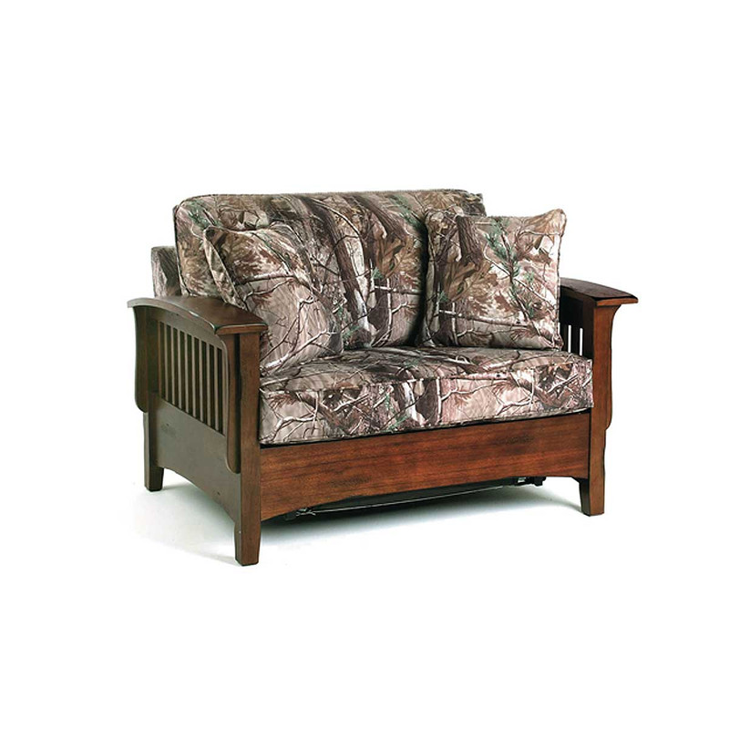 Best Home Furnishings Westney Series Loveseat in Realtree AP Camo Color