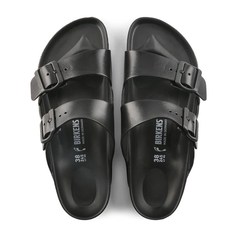 Birkenstock Arizona Sandal EVA - Unisex in Black Color