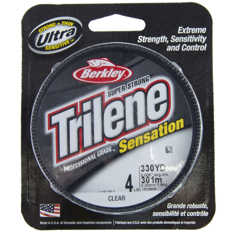 Berkley Trilene Sensation Clear 330YD