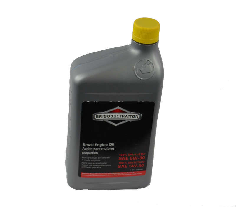 Briggs & Stratton Small Engine Motor Oil, SAE 5W-30 Synthetic -32 oz. in 10