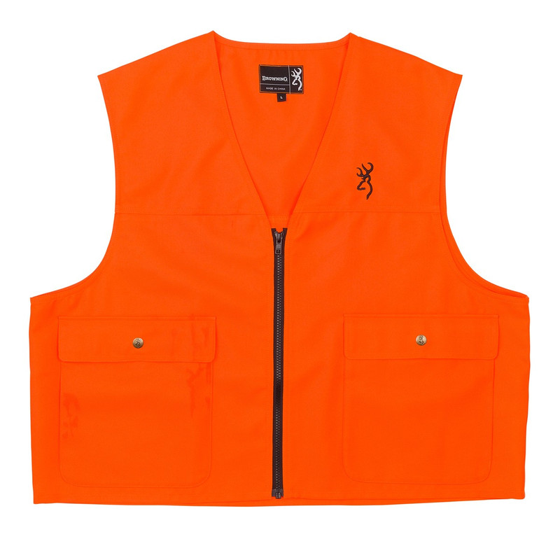 Browning Safety Vest in Blaze Color