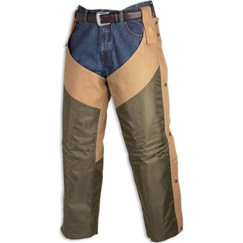 Browning Upland Chaps - Tan in Tan Color