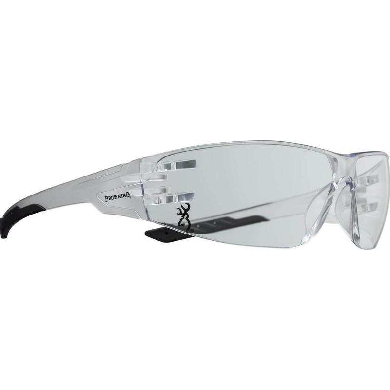 Browning Shooting Flex Clear/Black Glasses