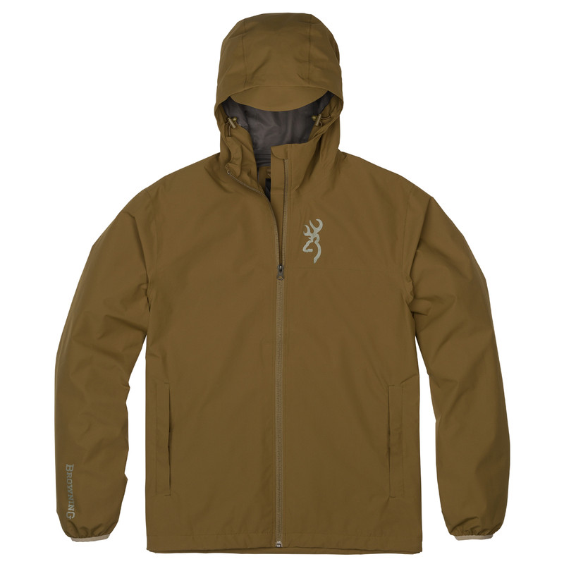 Browning Dry Fire Gore-Tex Paclite Jacket in Military Green Color