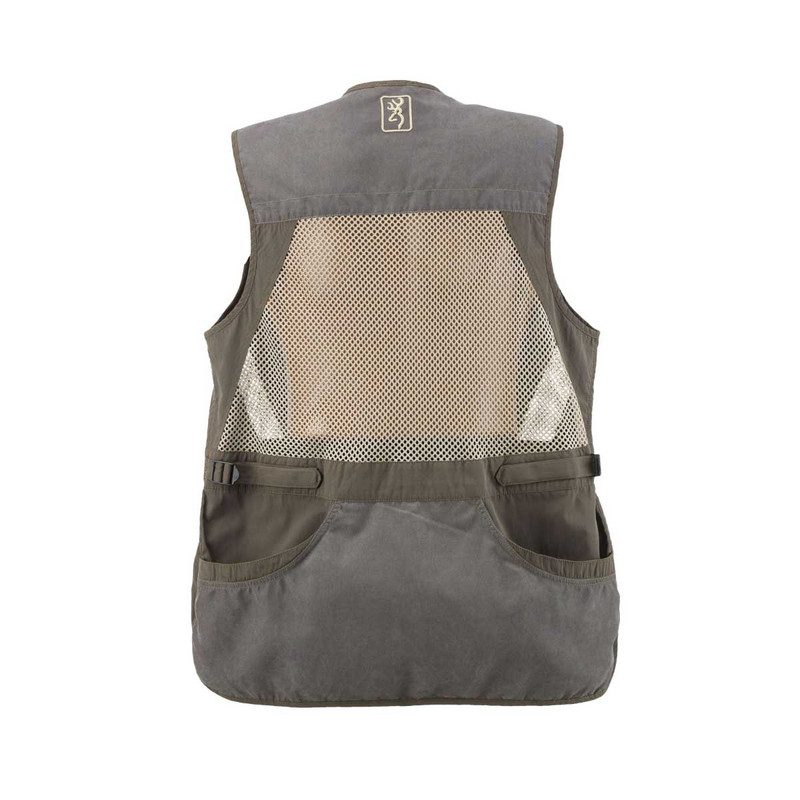 Browning Summit Shooting Vest in Grey Color
