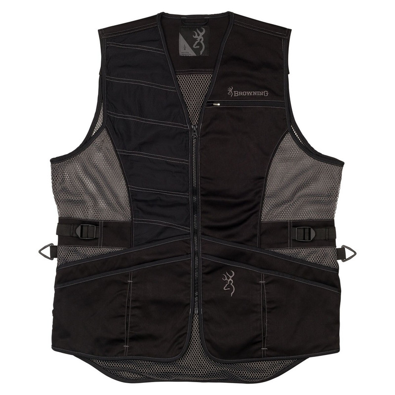 Browning Ace Shooting Vest - Black Right Hand