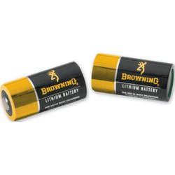 Browning 3742000 CR123A Lithium Batteries - 2 Pack