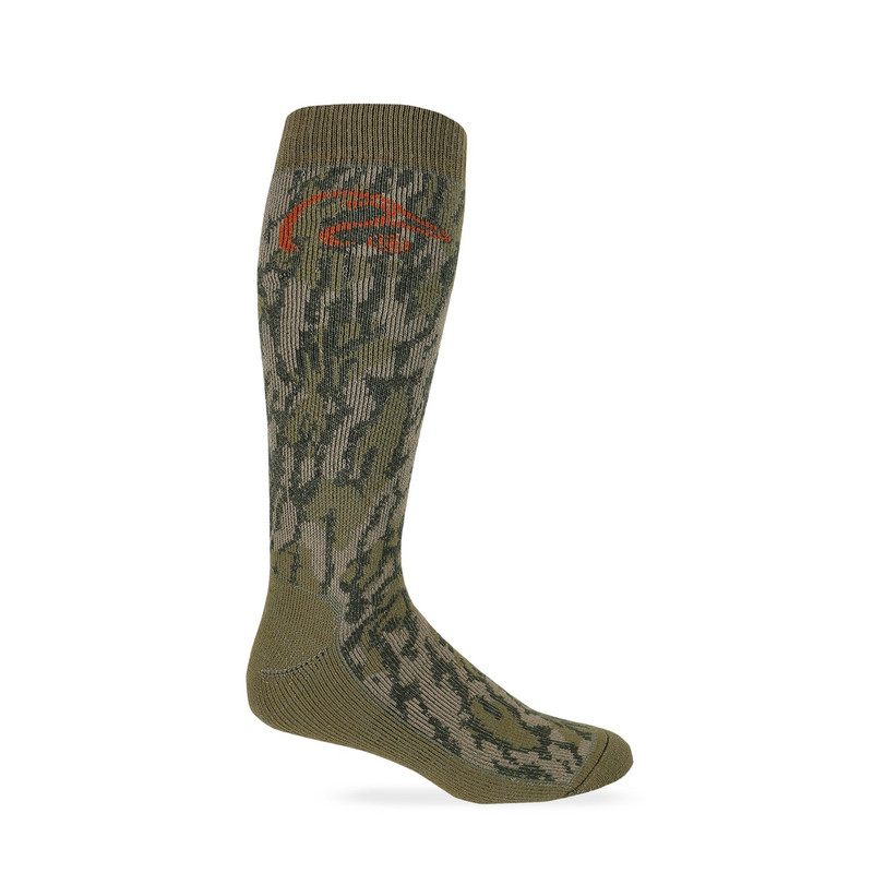 Ducks Unlimited Full Cushion Merino Wool Blend Camo in Original Mossy Oak Bottomland Color