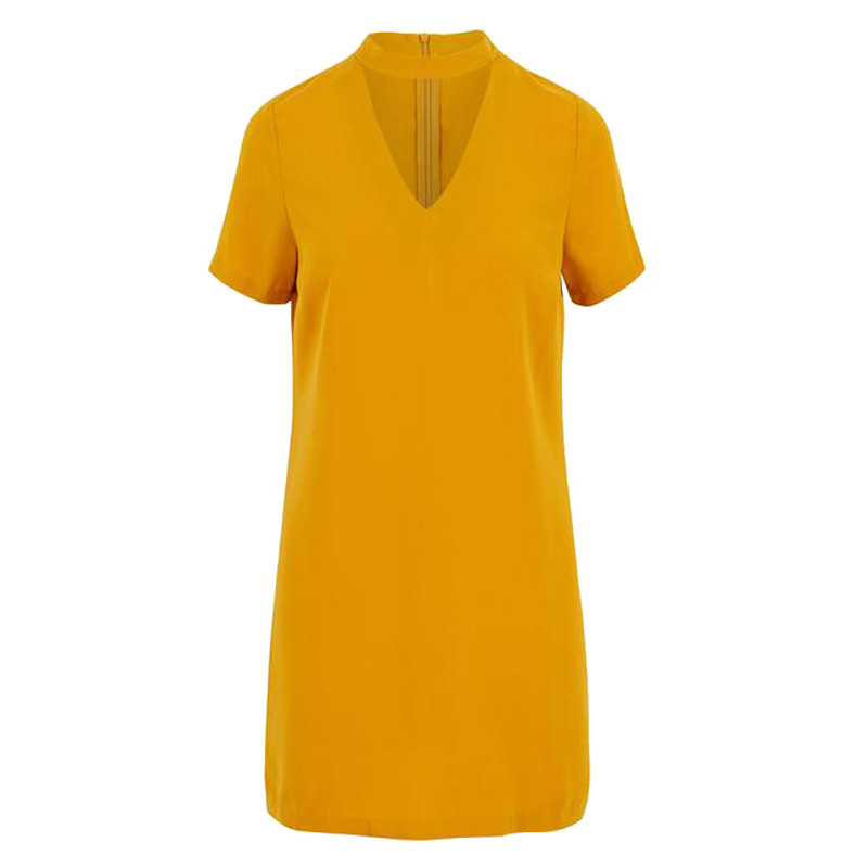 Bishop & Young Shasha Dress in Mustard Color
