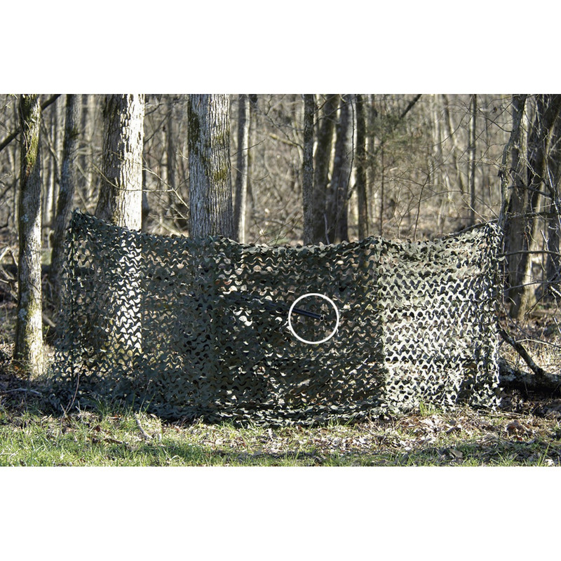 Camo Systems Portable Ground Blind in Green Brown Color