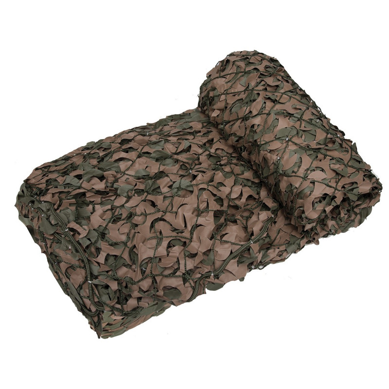 Camo Systems Premium Series Military Camo Netting Green/Brown - 10' x 10'