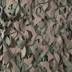 Camo Systems Premier Series Military Netting with Attached Mesh - Green/Brown - 10' x 20'