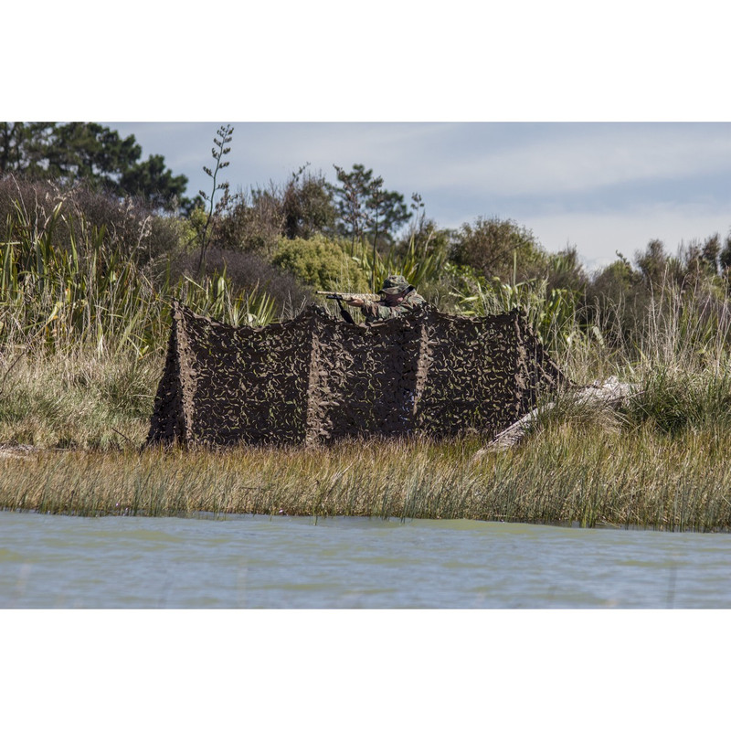 "Camo Systems 3 to 4 Man Waterfowl Shore Blind - 55""x12' in Main"