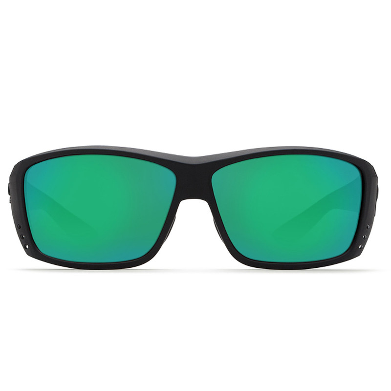 Costa Cat Cay Blackout Frame Green Mirror 580P