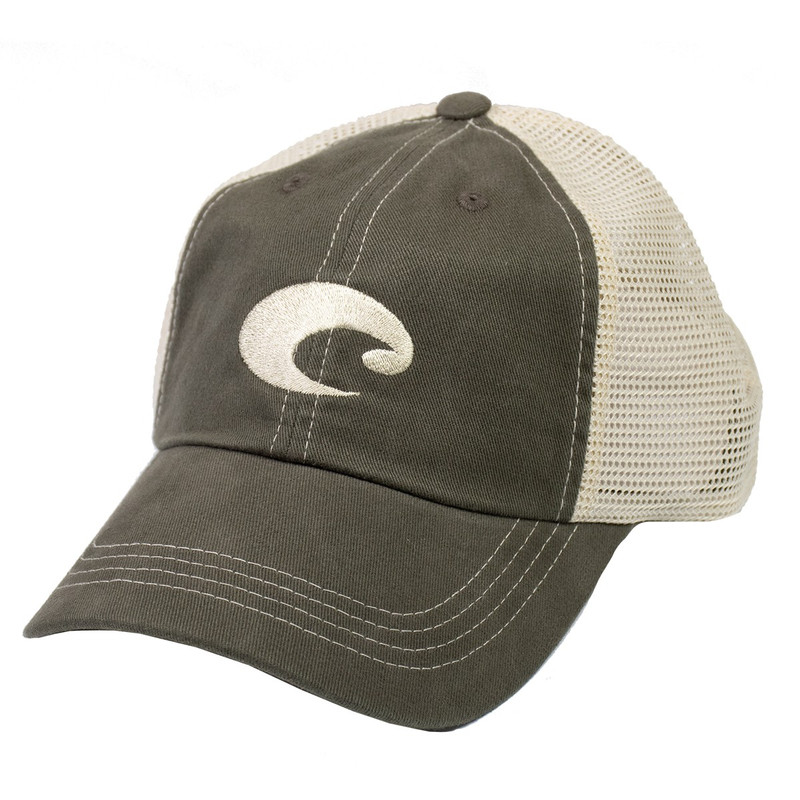 Costa Mesh Hat - Men's in Moss Stone Color