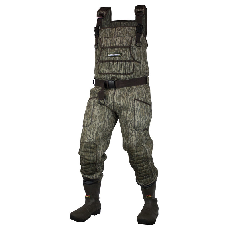 Compass 360 DuraTek Chest Wader in Mossy Oak Bottomland Color