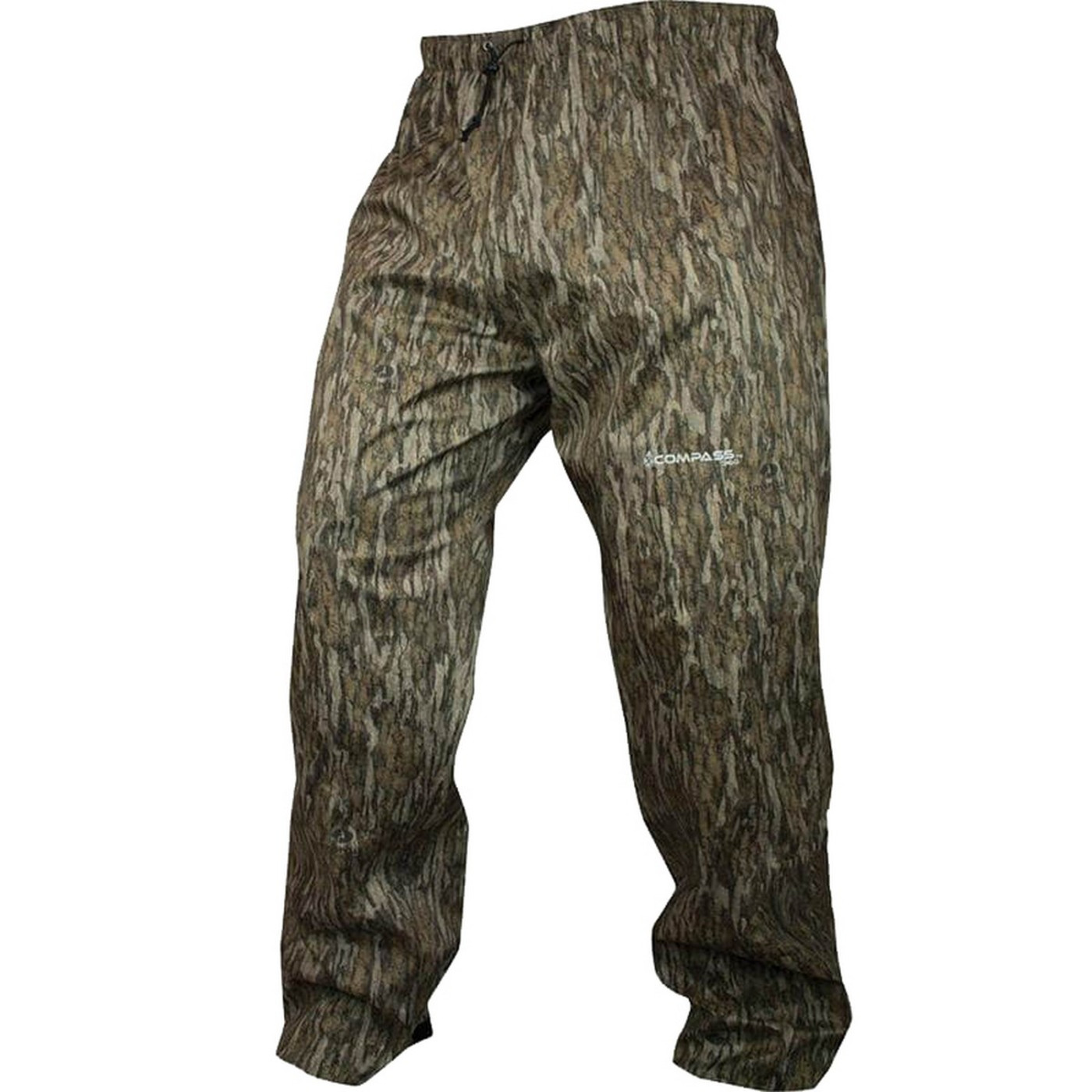 Compass 360 HydroTek Rain Pant in Mossy Oak Bottomland