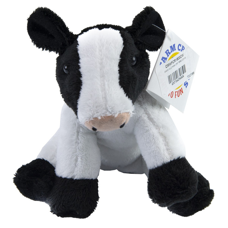 Wildlife Artists Cow Farm Critters Plush Toy