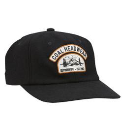 17195d3d2dfa4 Coal The Hayes Vintage Low Profile Cap Black