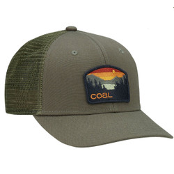 84ee28c2f32b8 Coal The Hauler Low Trucker Hat - Olive