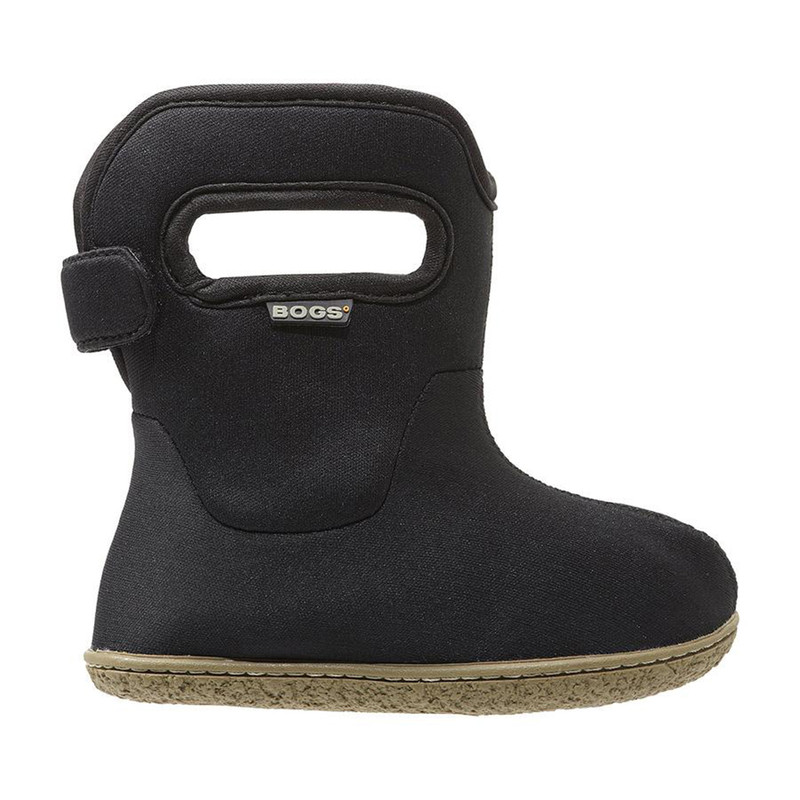 Bogs Baby Bogs Solid Rain Boots - Solid in Black Color