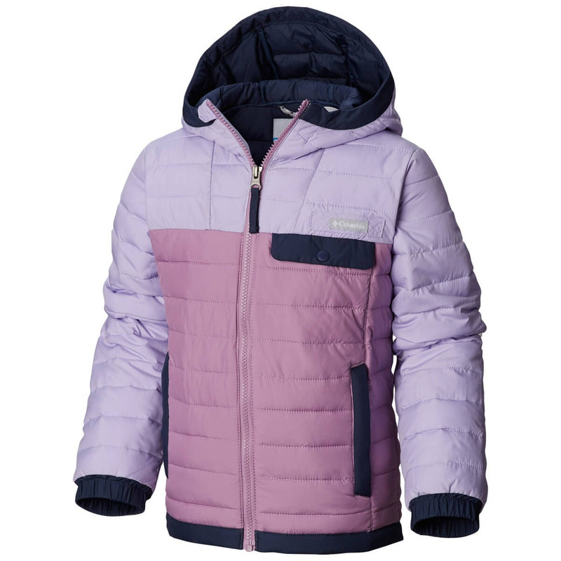 Columbia Youth Mountainside Full Zip in Soft Violet Violet Haze Color