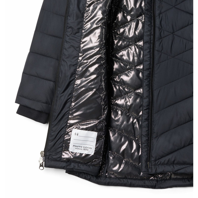 Columbia Girl's Heavenly Long Jacket in Black Color
