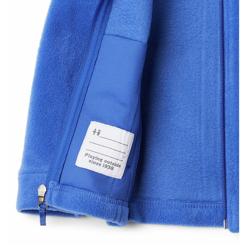 Columbia Youth Benton Springs Fleece in Lapis Blue Color