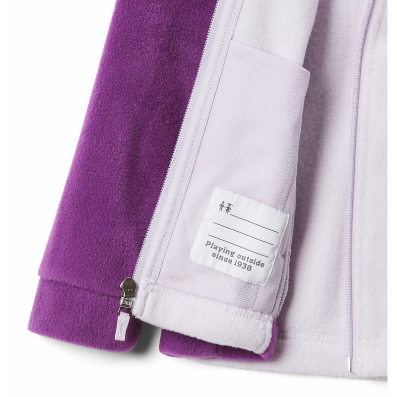 Columbia Youth Benton Springs Fleece in Plum Color