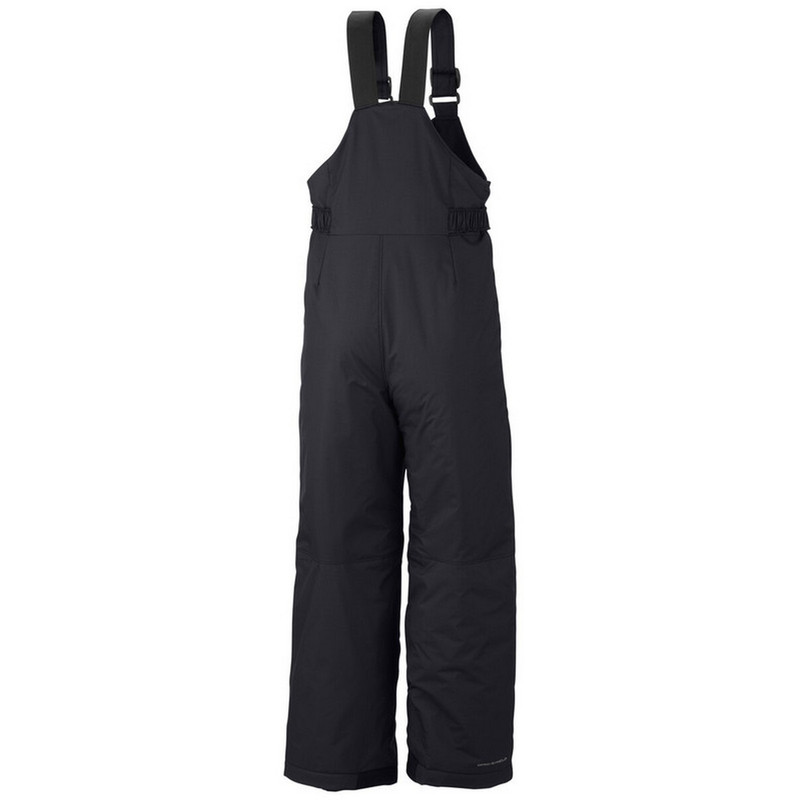 Columbia Boy's Snowslope II Bib in Black Color