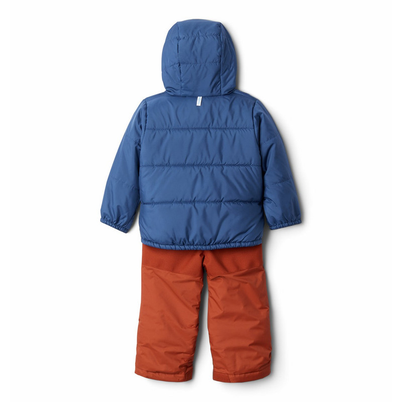 Columbia Youth Frost Slope Set in Dark Adobe Night Tide Color