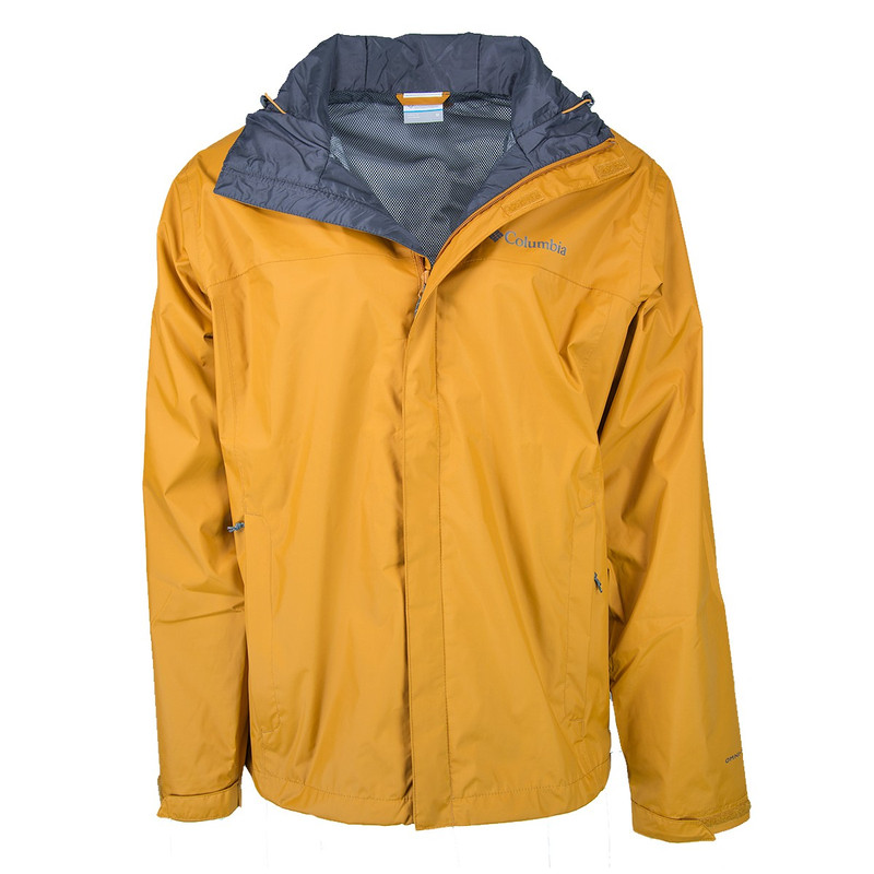 Columbia Men's Watertight II Jacket in Burnished Amber Color