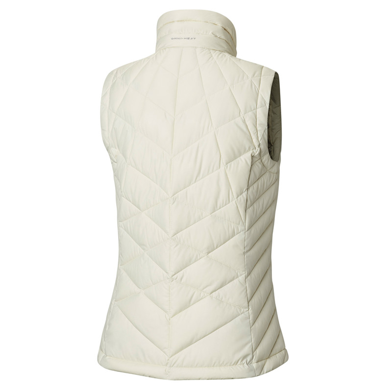 Columbia Women's Heavenly Vest in Chalk Color