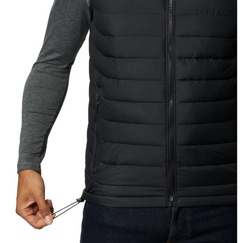 Columbia Men's Powder Lite Vest in Black Color