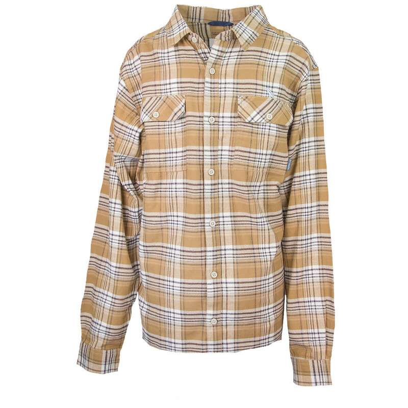 Columbia Flare Gun Flannel III Long Sleeve Shirt in Delta Small Plaid Color