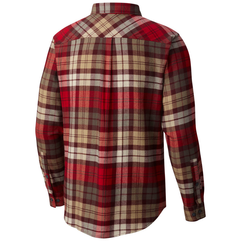 Columbia Flare Gun Flannel III Long Sleeve Shirt in Rocket