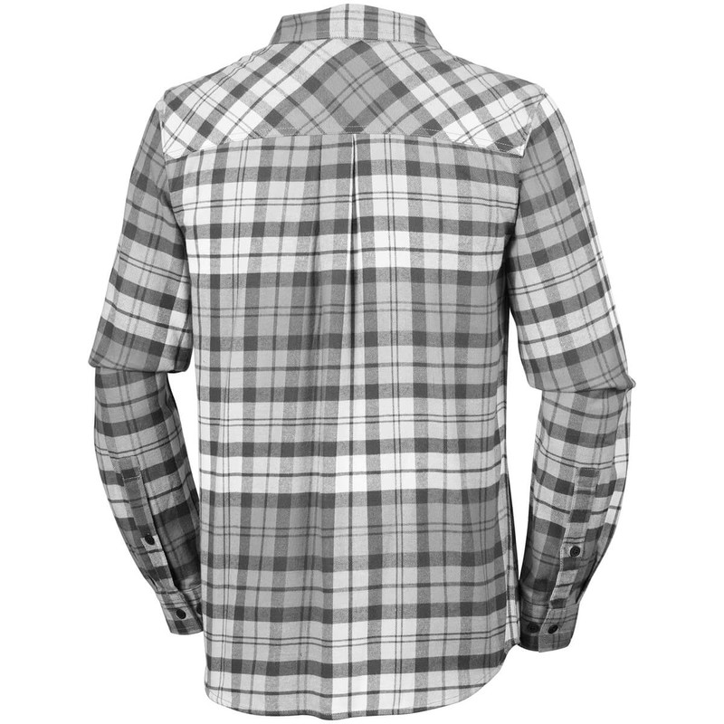 Columbia Flare Gun Flannel III Long Sleeve Shirt in Shark Color