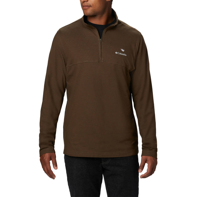 Columbia Rugged Ridge 1/4 Zip in Olive Green Heather Color