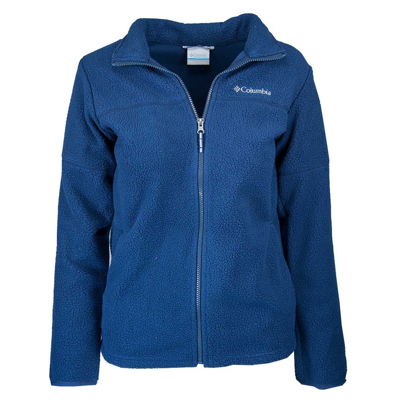 Columbia Boy's Rugged Ridge Sherpa Full Zip in Collegiate Navy Color